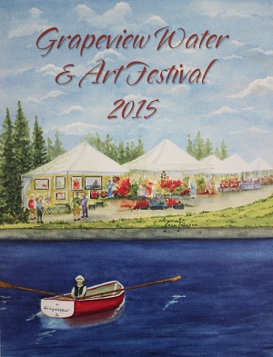 GCA Water & Art Festival 2015 Poster Winner